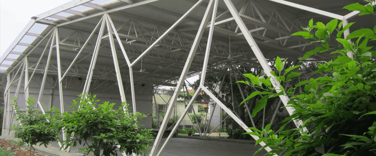 Roofing Structure in India, Mezzanine Floor Structure in India