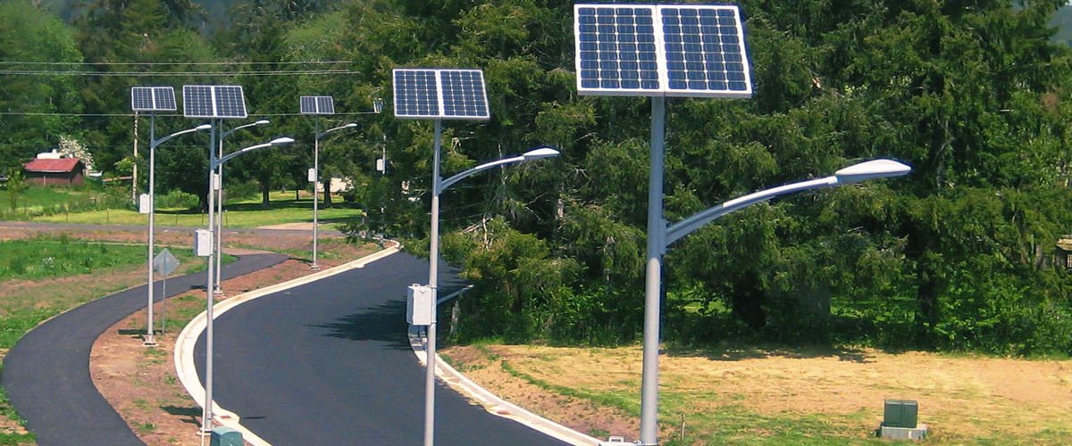 Solar Street Lights in India, Solar Street LED Lights in India
